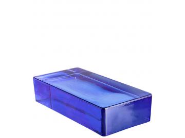 Скляна цегла Vetropieno Blue Rettangolare