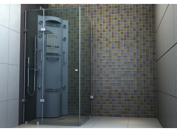 Скляна душова кабіна Byanka Monte