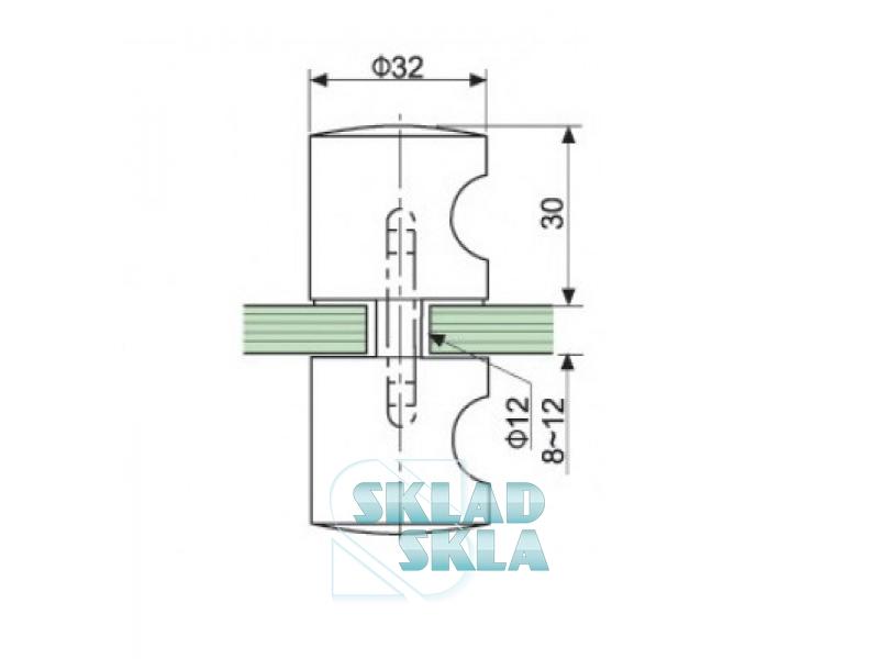 Ручка для дверей HDL-696