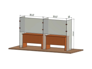 Захисна конструкція GlassScreen Tutti
