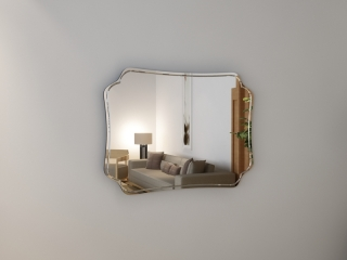 Зеркало с гравировкой Diretto