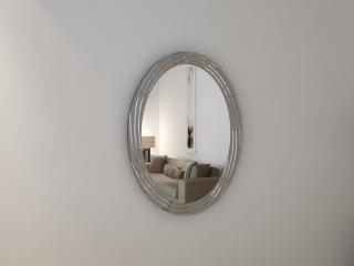 Зеркало с гравировкой Ovale argento