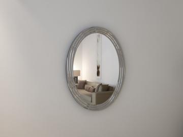 Дзеркало з гравіюванням Ovale argento