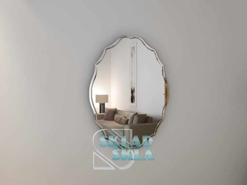 Дзеркало з гравіюванням Ovale