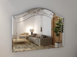 Зеркало с гравировкой Arco
