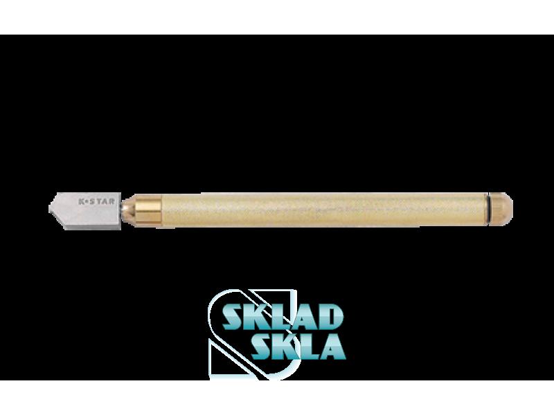 Стеклорез K-Star с автоматической подачей смазки, метал. Ручка (308В)