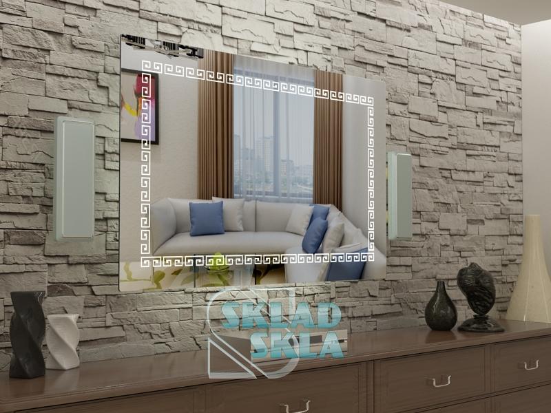 Зеркало с LED подсветкой Alessandria