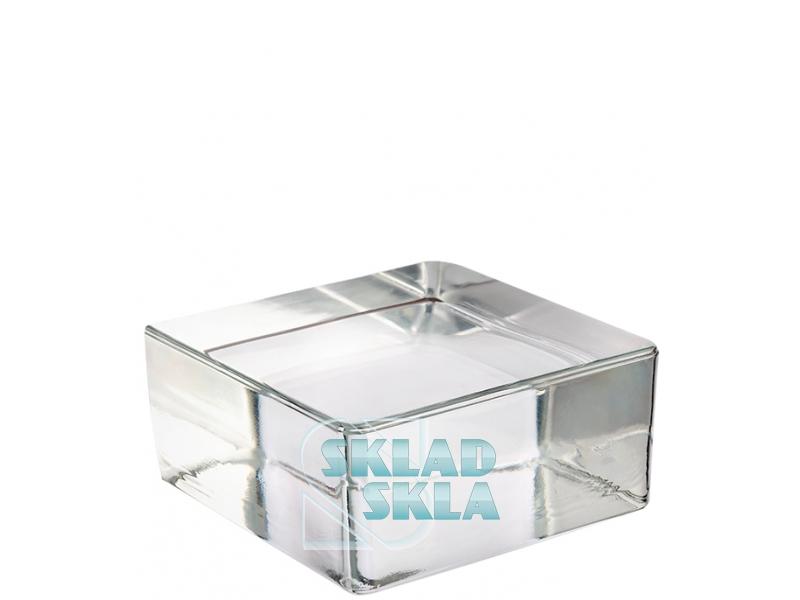 Скляна цегла Vetropieno Clear Quadrato