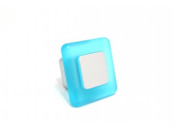 Меблева ручка Poliplast 0024QVTSVO Blue