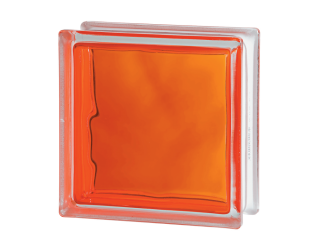 Склоблок кольоровий Brilly 1919/8 Wave Orange