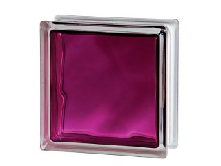 Склоблок кольоровий Brilly 1919/8 Wave Ruby