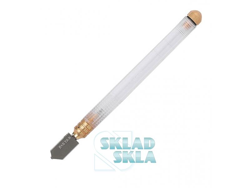 Стеклорез K-Star с автоматической подачей смазки, пластиковая ручка (310B)