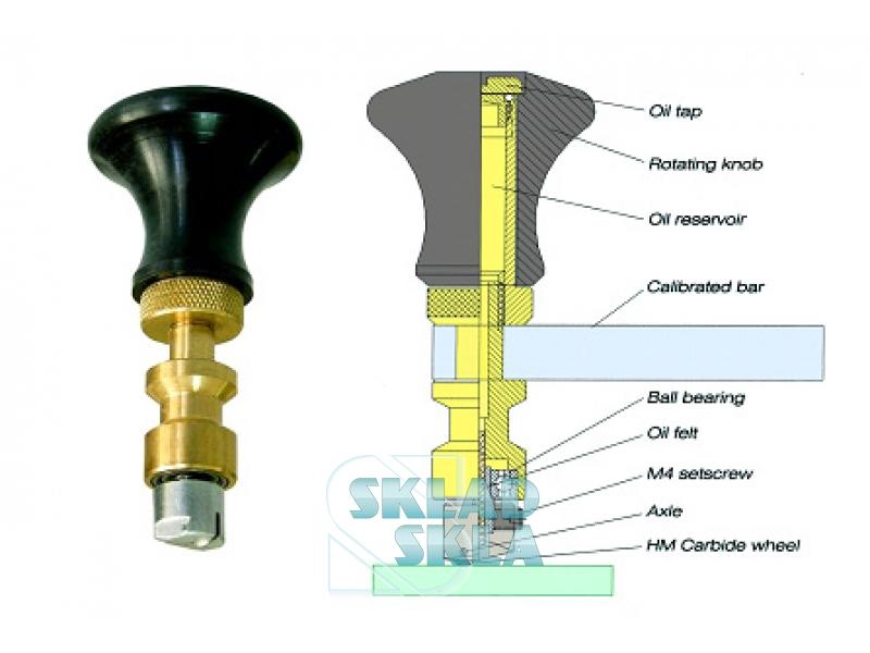 Запасний ріжучий модуль до приладів для різання овалу 160-1400 мм.