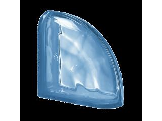 Угловой стеклоблок BLU TER CURVO O