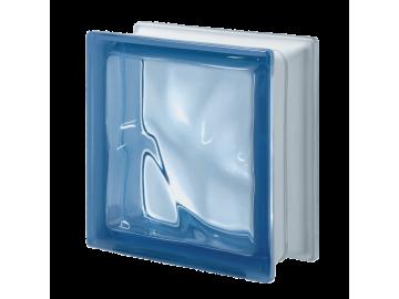 Склоблок кольоровий Хвиля Q19 O Blu