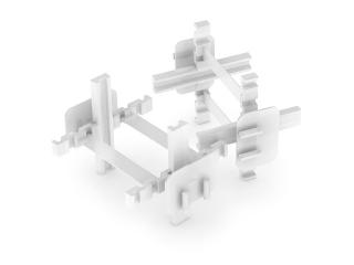 Крестик распорный 10мм для монтажа стеклоблоков