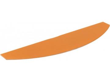 Полиця скляна коричнева арка