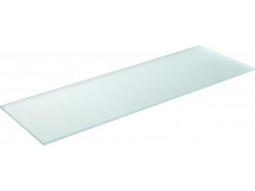 Полиця скляна матова прямокутна