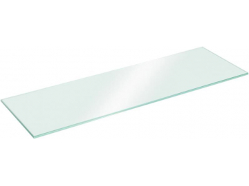 Полиця скляна прямокутна